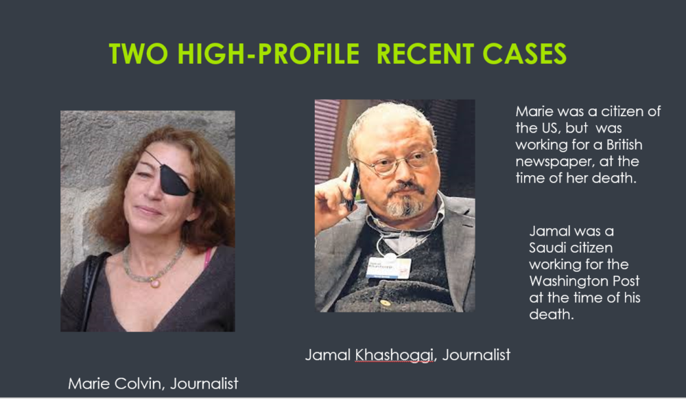 POWER POINT SLIDES FOR EXTRA-JUDICIAL KILLINGS – available with, or without, a speaker